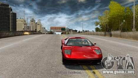 Velocidad del vehículo para GTA 4 segundos de pantalla