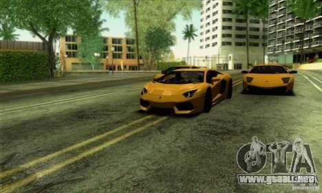 SA_gline v2.0 para GTA San Andreas sucesivamente de pantalla