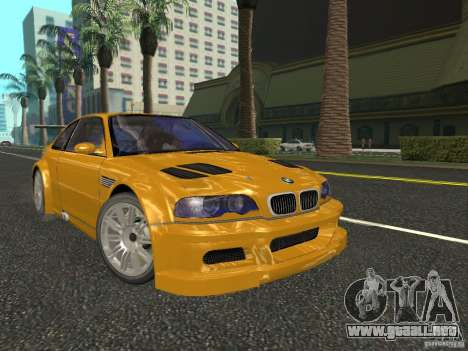BMW M3 GTR de NFS Most Wanted para GTA San Andreas
