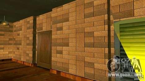 Nuevas texturas para la casa de CJ para GTA San Andreas segunda pantalla