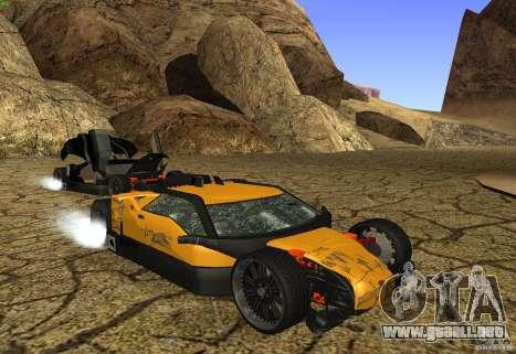 Guardia para la vista superior GTA San Andreas