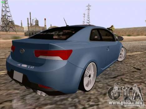 Kia Cerato Coupe 2011 para GTA San Andreas left
