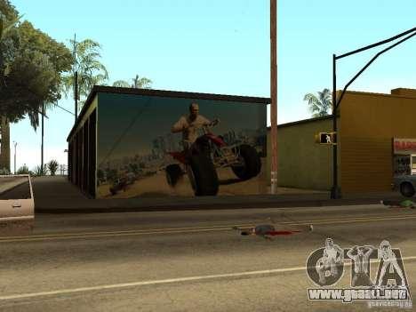Cartel de GTA 5 para GTA San Andreas tercera pantalla