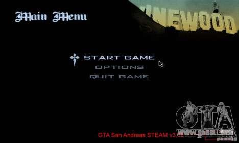 Parche para el GTA San Andres vapor V 3.00 para GTA San Andreas