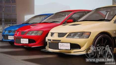 Mitsubishi Lancer Evolution VIII MR Edition para GTA San Andreas