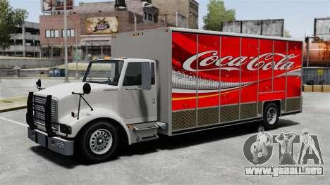 El nuevo anuncio para el carro de Benson para GTA 4 quinta pantalla
