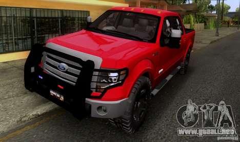 Ford F-150 4x4 para GTA San Andreas