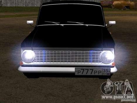 Moskvitch 408 estilo Extra para GTA San Andreas