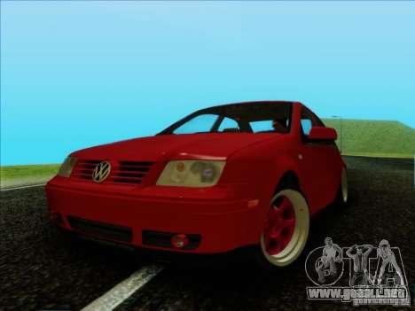 Volkswagen Bora HellaFlush para GTA San Andreas