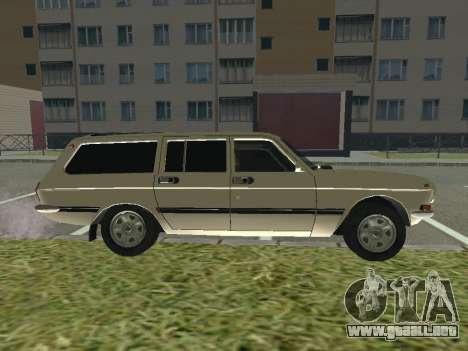 Volga GAZ-24 12 para GTA San Andreas vista posterior izquierda