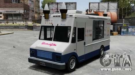 Nuevo van moroženŝika para GTA 4