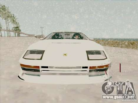 Ferrari Testarossa Custom para la visión correcta GTA San Andreas