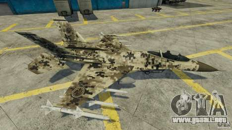 Fighterjet para GTA 4 vista interior