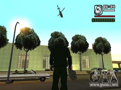 formato de 12/24 horas para GTA San Andreas sucesivamente de pantalla