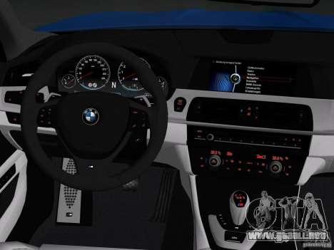 BMW M5 F10 2012 para el motor de GTA Vice City