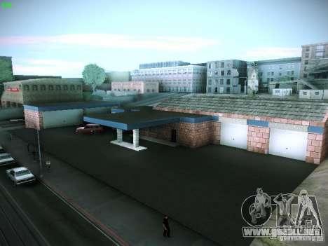 Nuevo garaje en San Fierro para GTA San Andreas