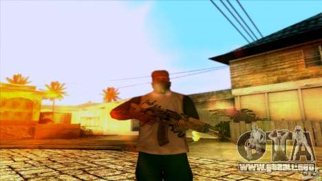 AK-47 from Far Cry 3 para GTA San Andreas