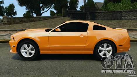 Ford Mustang 2013 Police Edition [ELS] para GTA 4 left