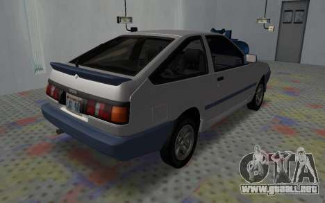 Toyota Corolla GT-S Tunable para GTA San Andreas left