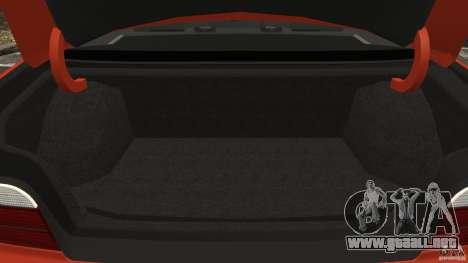 BMW M3 E36 para GTA 4 vista desde abajo