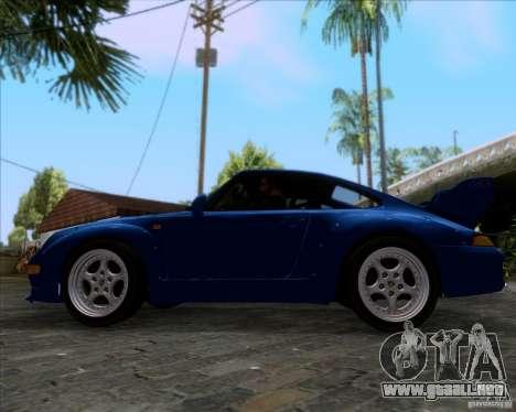 Porsche 911 GT2 RWB Dubai SIG EDTN 1995 para visión interna GTA San Andreas