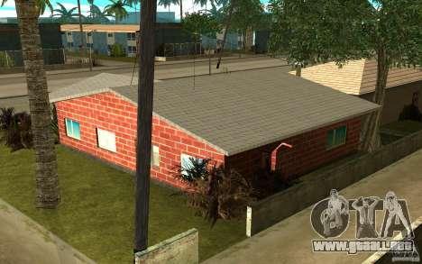 Nuevas texturas casa Denis para GTA San Andreas tercera pantalla
