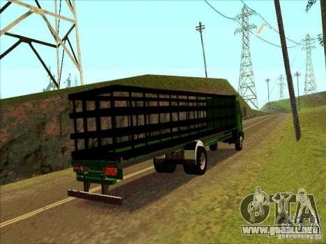 Ford Cargo para la visión correcta GTA San Andreas