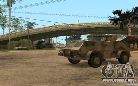 GAS-3937 Vodnik para GTA San Andreas left