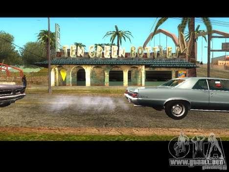 Negocio Cj v1.0 para GTA San Andreas segunda pantalla