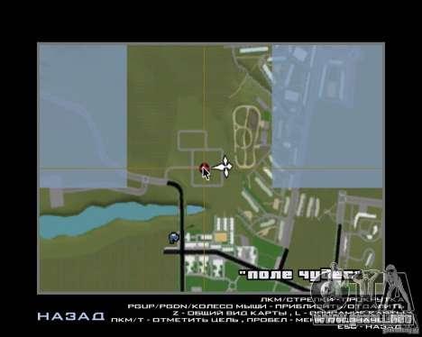 Nuevo campo del distrito de sueños para GTA San Andreas séptima pantalla