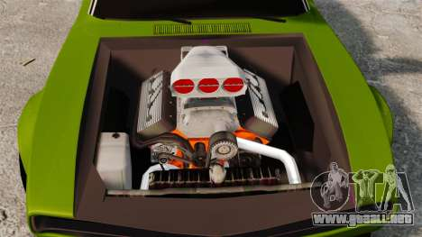Dodge Charger RT SharkWide para GTA 4 vista interior