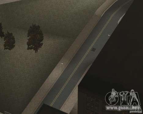 Nuevas texturas de carretera para GTA UNITED para GTA San Andreas séptima pantalla