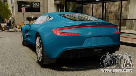 Aston Martin One-77 para GTA 4