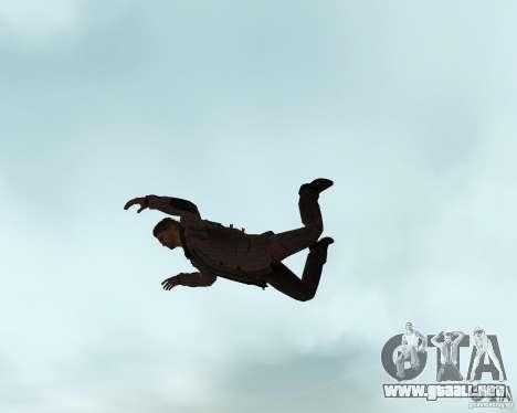 Alan Wake para GTA San Andreas sucesivamente de pantalla