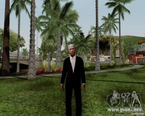Morgan Freeman para GTA San Andreas tercera pantalla
