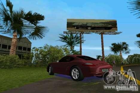 Porsche Cayman para GTA Vice City left
