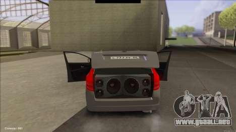 Kia Ceed SW para GTA San Andreas vista posterior izquierda
