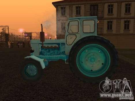 Tractor T-40 m para GTA San Andreas left