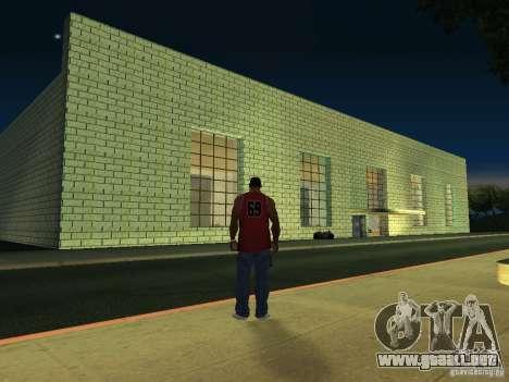 Casa de Rusia 2 para GTA San Andreas sucesivamente de pantalla