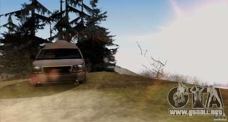 GMC Savana AWD para visión interna GTA San Andreas