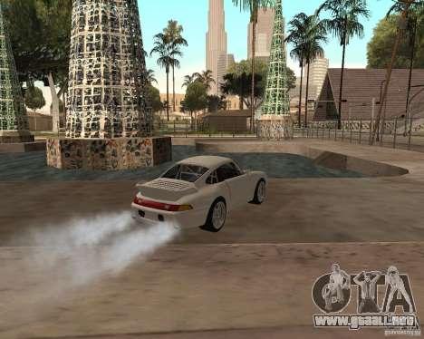 Porsche 911 Turbo 1995 para GTA San Andreas left