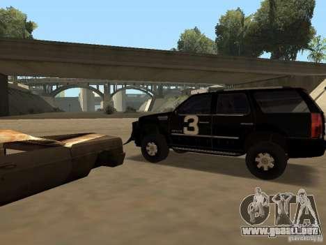 Cadillac Escalade Tallahassee para la visión correcta GTA San Andreas
