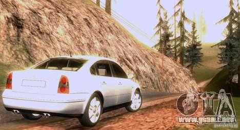 Volkswagen Passat B5+ para el motor de GTA San Andreas
