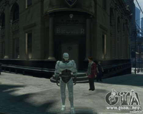 Piel Robokopa para GTA 4
