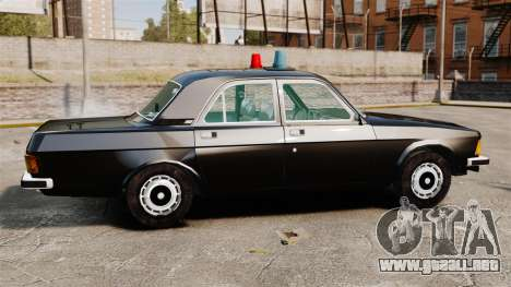 FBI Gaz-3102 para GTA 4 left