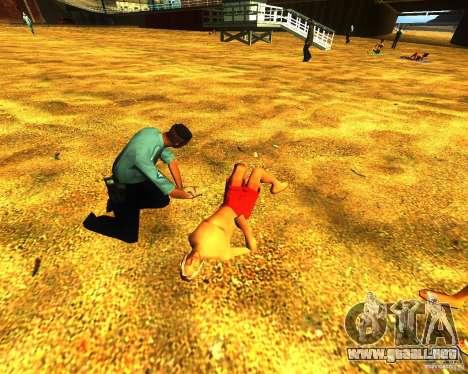 Salvación del hombre en la playa para GTA San Andreas