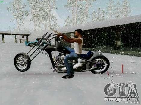 Harley para GTA San Andreas left
