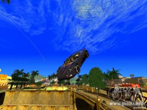 Amazing Screenshot 1.0 para GTA San Andreas sucesivamente de pantalla