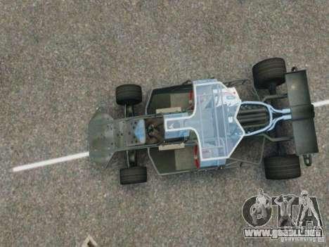 Villain The Fast and the Furious 6 para GTA 4 visión correcta