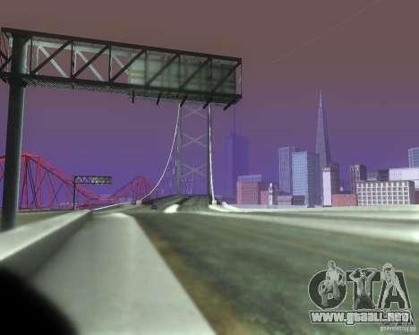 ENBSeries for medium PC para GTA San Andreas quinta pantalla